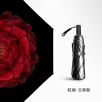 6ca0b312218 YFF ILU Lover gift Small Black banana umbrellas light purple mists princess  red double-