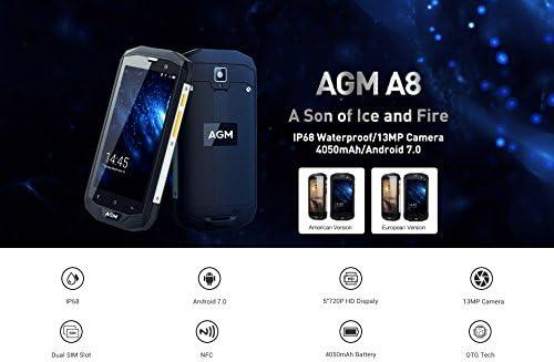 AGM A8 (EDICIÓN Alta 4 GB de RAM y ROM de 64 GB): Amazon.es ...