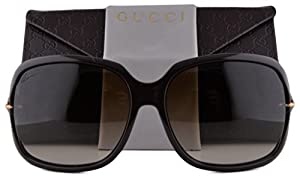 Gucci GG3584/S Sunglasses Cocoa w/Brown Gradient Lens 3GXCC GG 3584 For Women