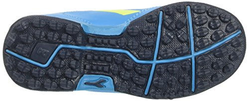 Diadora 6play TF Jr, Zapatillas de Fútbol Para Niños Azul (Blu Fluo/giallo Fluo)