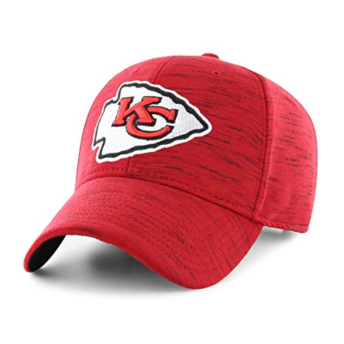 NFL Kansas City Chiefs Men's Space Shot OTS All-Star Adjustable Hat, Storm, One Size