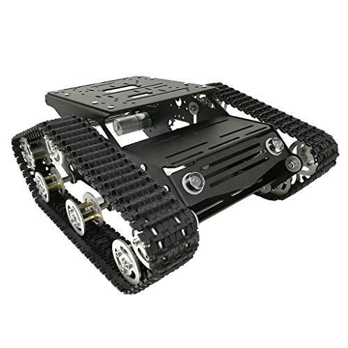 SM SunniMix Chasis Seguido Coche del Tanque del Amortiguador De Choque del Robot De RC WiFi con El Motor del Poder Más...
