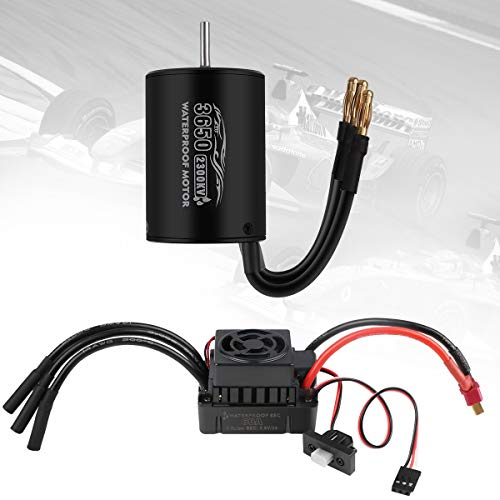 Check expert advices for brushless waterproof motor and esc?