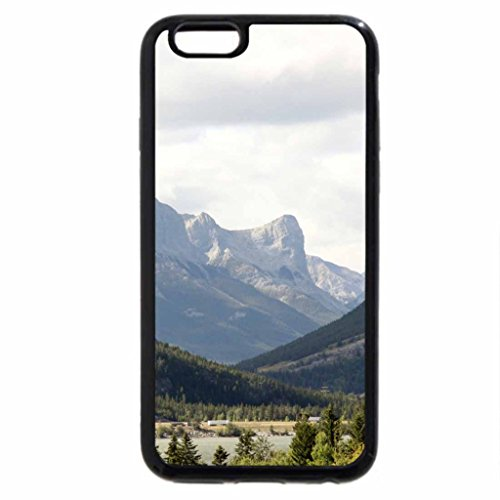 iPhone 6S / iPhone 6 Case (Black) mountains mist-shrouded