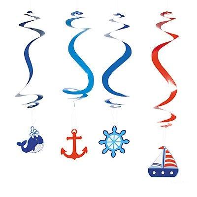 1. Geburtstag Sailor Aufhängen Swirls