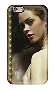 Premium Durable Rose Mcgowan Planet Terror Actress Fashion Tpu Iphone 6 Protective Case Cover