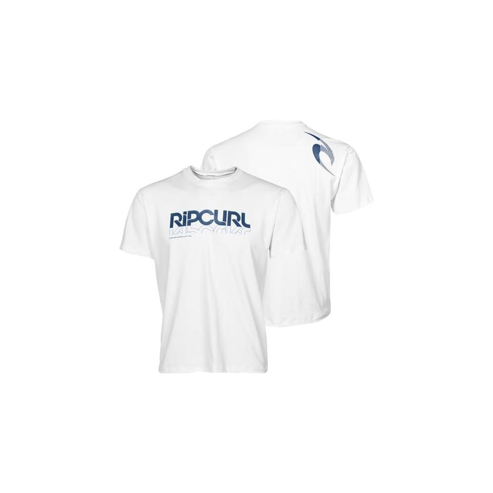 Rip Curl Reflecto Surf Shirt   White