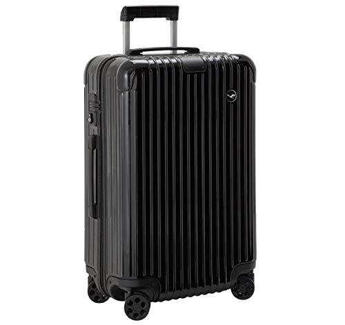 RIMOWA Essential Lufthansa Edition Check-In M, Glossy Black リモワ エッセンシャル ルフトハンザ エディション 60L ブラック [並行輸入品] B07GDWD7GS
