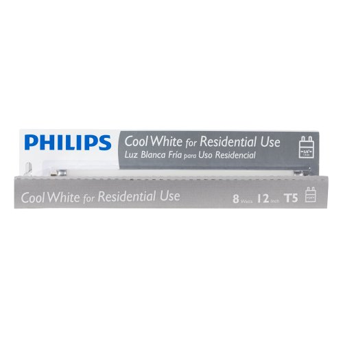 046677391140 - Philips 391144 Linear Fluorescent 8-Watt 12-Inch T5 Cool White Light Bulb carousel main 2