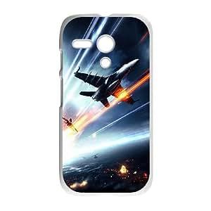 Battlefield 3 Jetfighter Motorola G Cell Phone Case White phone component AU_590200