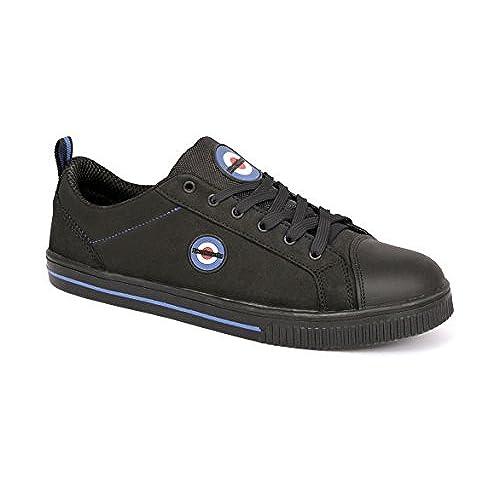 Lambretta pour homme/femme à lacets de sécurité Sécurité Travail Chaussures Formateurs