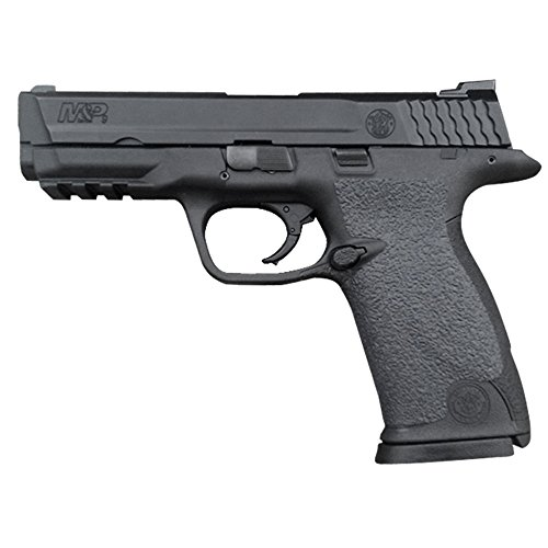 Galloway Precision Traction Grip Overlays in Black for Smith and Wesson M&P 9, 40, and 22 Full Size Pistols