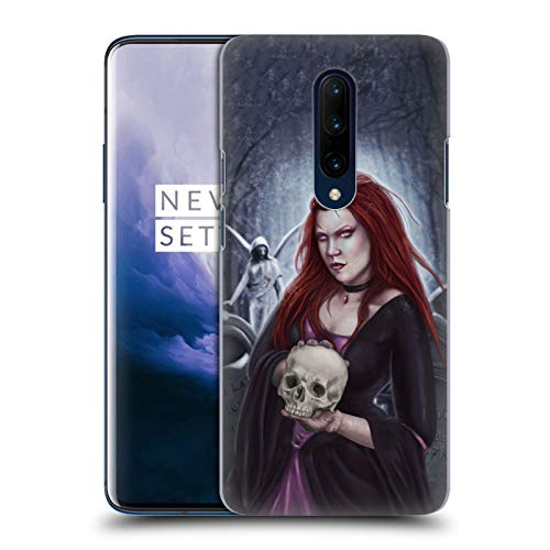 Official Tiffany Tito Toland-Scott Woman with Skull Vampire and Werewolves Hard Back Case Compatible for OnePlus 7 Pro -