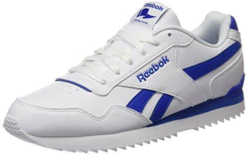 Reebok Royal Glide, Chaussures de Running Compétition Homme Multicolore (White/Vital Blue Bs6805)