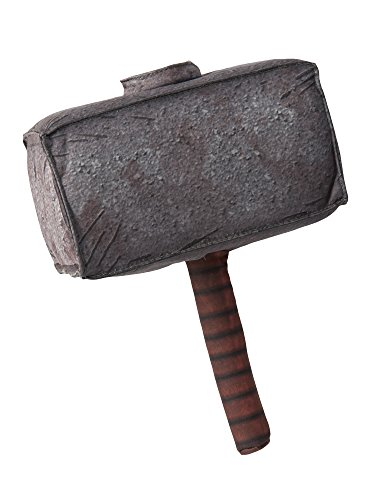 Marvel Universe Classic Collection, Avengers Assemble Thor Plush Hammer Costume Accessory]()