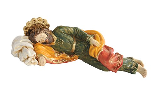 Fontanini Sleeping Saint Joseph Italian Religious Figurine 54111 Made in Italy