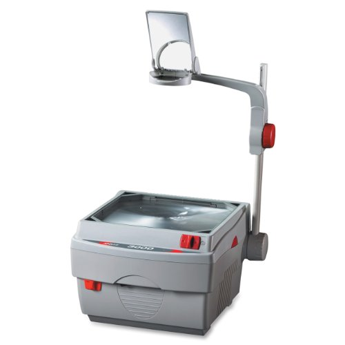 (Apollo 3000 Lumen Open Head Overhead Projector with Marker, 15 x 14 x 27 Inches (V3000M))