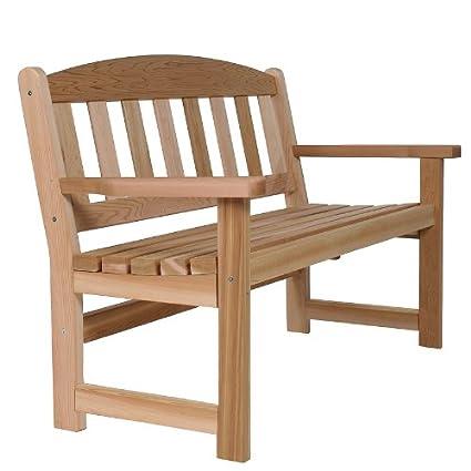 Cedar Garden Furniture Amazon cedar garden bench garden outdoor cedar garden bench workwithnaturefo