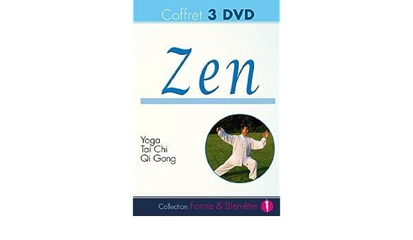 Coffret Zen : Yoga exercices + Initiation au Taï Chi + Qi ...