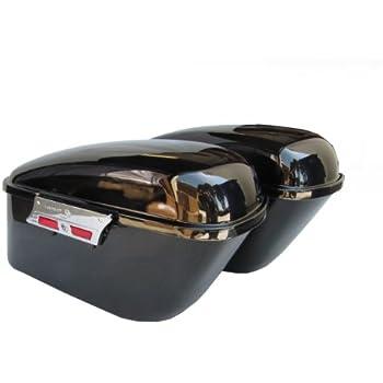 Amazoncom Hard Saddlebags For Kawasaki Vulcan Vn1500 Automotive