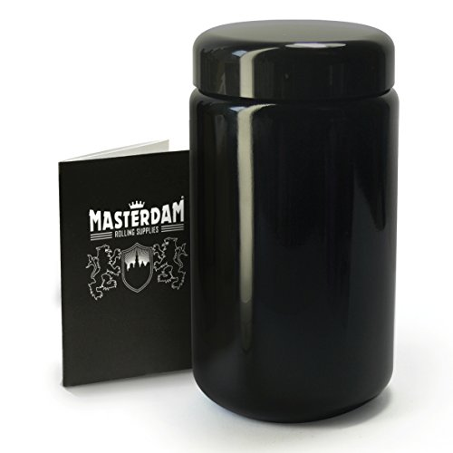 Masterdam Jars 400ml StashShield Glass