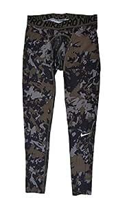 Nike para hombre mallas de compresión Pro Combat Hypercool Woodland Antracita/Gris Cool 658573–066, Camo Forest/Black/Grey, Mediano