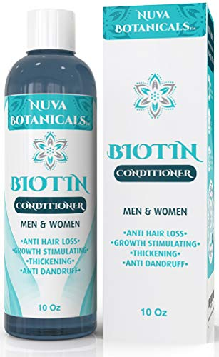 Biotin Conditioner For Hair Growth - Thickening Conditioner For Hair Loss All Natural For Thinning Hair - For Women & Men - Sulfate Free Paraben Free - Safe For Color Treated Hair