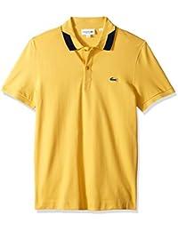 Men's S/S Pique Regular Fit Printed Color Polo