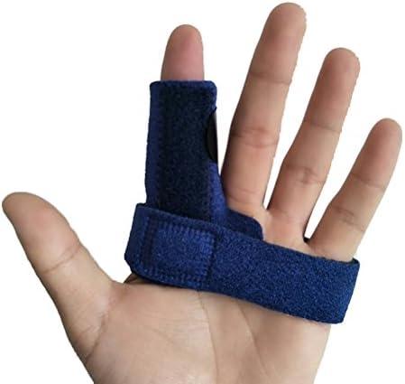 Rosenice Fingerschiene, verstellbare Finger-Stützbandage zur Linderung von Fingerverriegelung, Biegen, Steifigkeit...