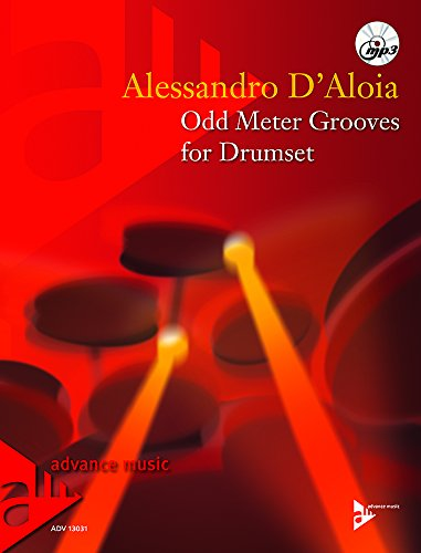 Odd Meter Grooves for Drumset (Book & MP3 CD)