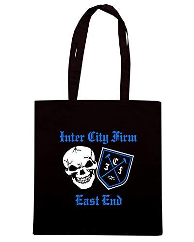 Speed EAST CITY INTER Shopper Borsa Shirt Nera TR0073 ICF FIRM END gxUrwOgqz