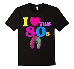 Neon 80s Punk Rocker Shirt Costume Party Outfit Halloween