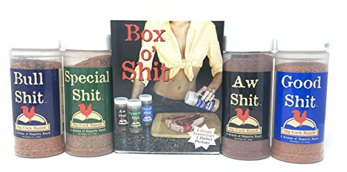 Special Shit - Box o Shit Sampler Pack of 4 Different Seasonings (1 each of Bull, Special, Good & AW)