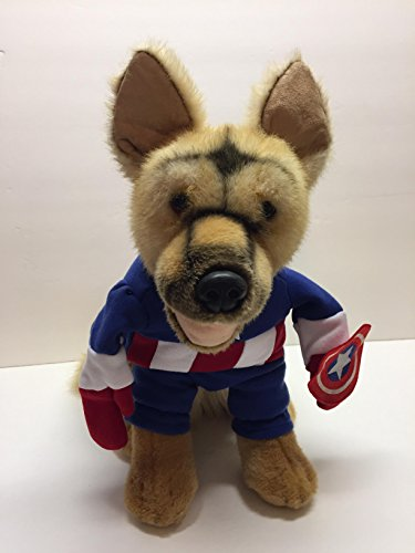 Captain America Marvel Dog Costume Small -