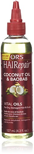 ORS HAIRepair Coconut and Baobab Vital Oils For Dry, Damaged Hair and Scalp