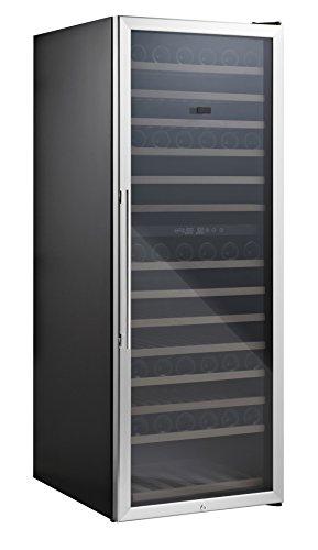 Qlima Casier Réfrigérateur 154bouteilles vin 14étages maison Restaurant fwk16154