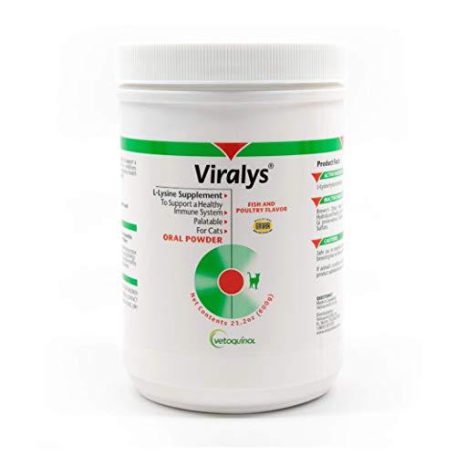 Vetoquinol Viralys L-Lysine Supplement