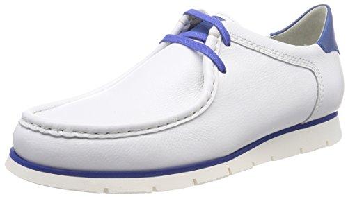 Sioux Grash-h181-25, Sneaker Uomo Weiß (Weiss/Cobalto)