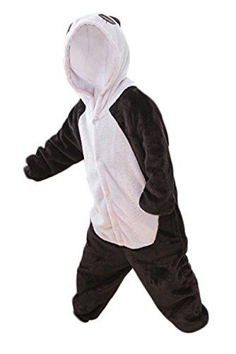 (NATURET Onesie Pajamas Animal Cosplay Panda One Piece Sleepwear for Parent Child Clothes (M,)
