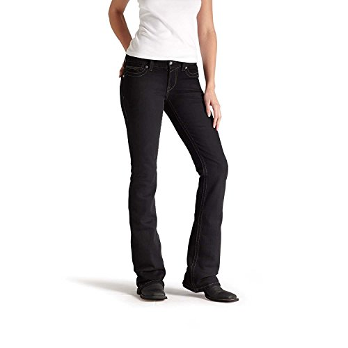 Ariat Women's R.E.A.L. Riding Jean 25 R Black