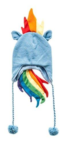 My Little Pony Rainbow Dash Hoodie (My Little Pony Rainbow Dash Junior Blue Laplander Beanie Fleece Winter Hat Os)