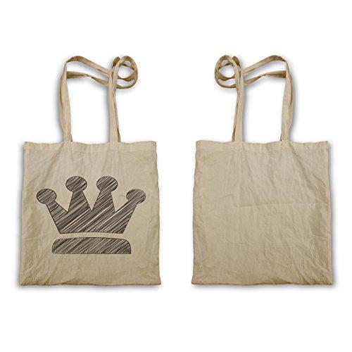 Crown King Queen Novità Novità Funny Art Carrying Case C760r