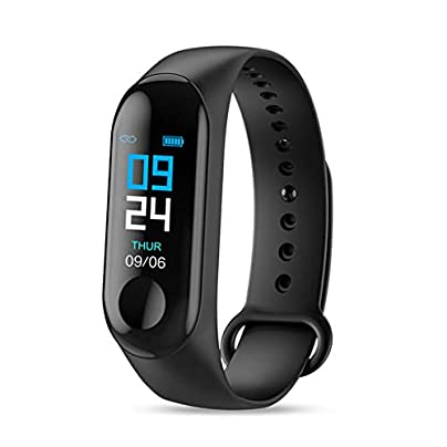 HFXLH Smart Bracelet Heart Rate Blood Pressure Health Waterproof Smart Watch Pro Bluetooth Watch Wristband Fitness Tracker Estimated Price £19.78 -