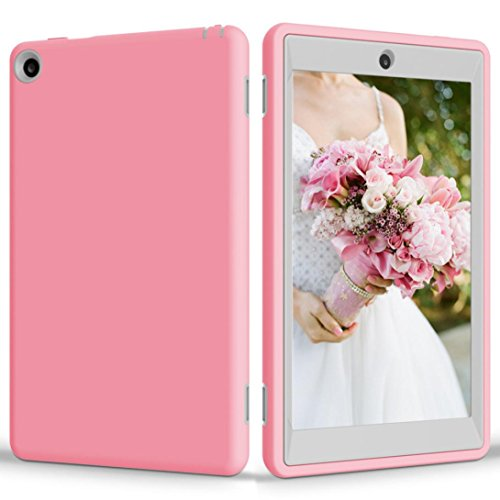 Price comparison product image Coohole Fashion Kid Tough Shockproof Protective Cover Case for Amazon Kindle Fire HD 8 2016 (C)