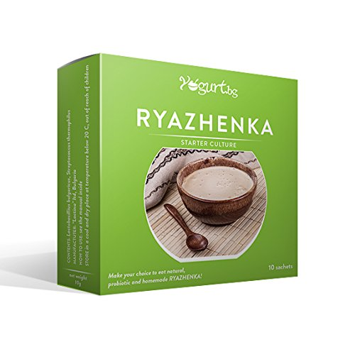 Ryazhenka/Baked Milk/Yogurt.bg Starter Culture By Lactina,probiotic, Organic for 10 Litres