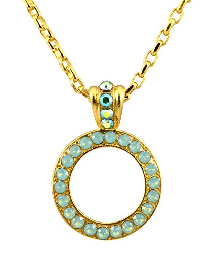 Mariana-Gold-Plated-Swarovski-Crystal-Circle-Pendant-Necklace-in-Pacific-Opaque-Crystal