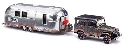 toyota land cruiser j4 w airstream hospital by busch buy. Black Bedroom Furniture Sets. Home Design Ideas