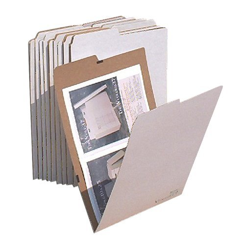 AOS Office School Flat Storage File Folders - Stores Flat Items up to 12 by Advanced Organizing