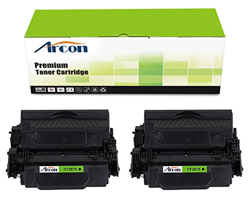 arcon-2pk-high-yields-18000-pages-compatible-toner-cartridge-replacement-for-hp-87x-cf287x-cf287-use