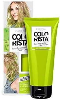 L Oreal lavado colorista, color verde neón semipermanente pelo, 80 ml